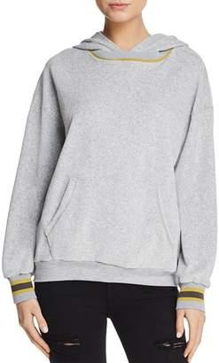 Nixon Project Social T Velour Hooded Sweatshirt