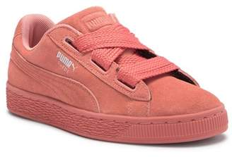 Puma Heart Suede Sneaker (Big Kid)