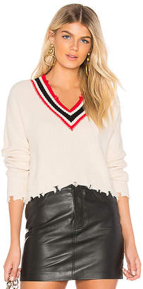 by the way. Elsa Distressed Cropped Sweater