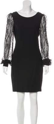 Rachel Zoe Lace-Accented Mini Dress w/ Tags