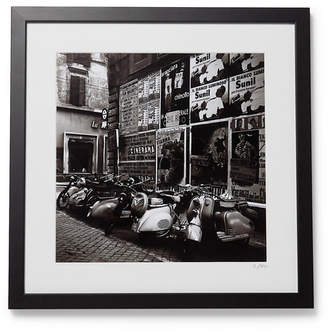 Sonic Editions Framed 1955 Scooters In Rome Print, 16 X 20