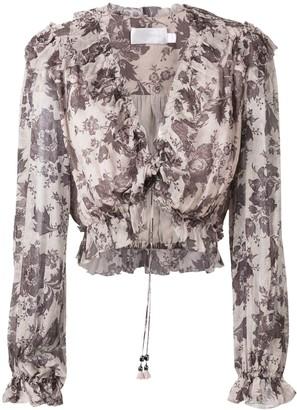 Zimmermann Juno tie blouse