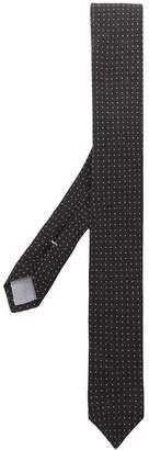 Eleventy micro dot embroidery tie