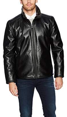 Andrew Marc Men's Caldwell Faux Shearling Jacket