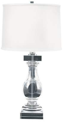 Lampworks Crystal Ballustrade Table Lamp