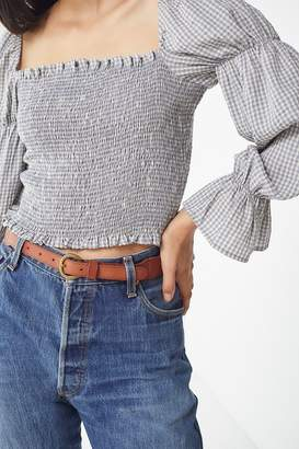 Urban Outfitters Tapered Western Leather Belt