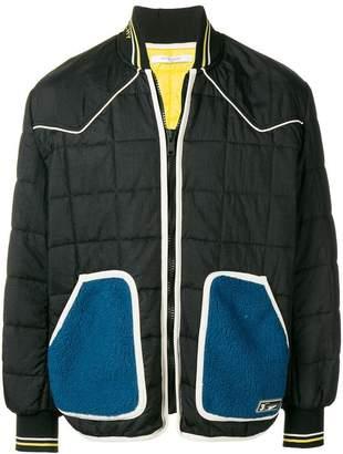 Givenchy contrast pococket bomber jacket