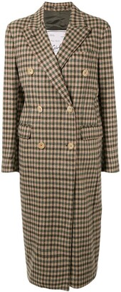 Giuliva Heritage Collection The Cindy check-print coat