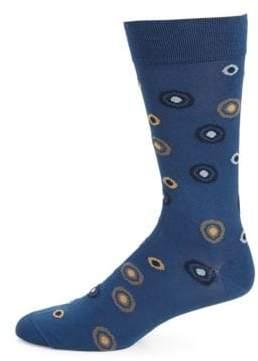Marcoliani Patterned Crew Socks