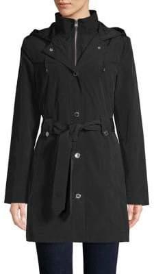 London Fog Belted Raincoat