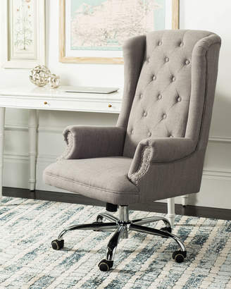 Safavieh Ian Tufted Swivel Office Chair