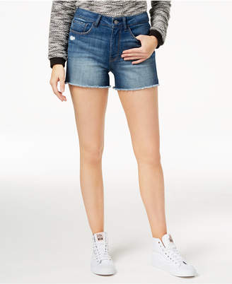 Vera Embroidered Denim Shorts, Created for Macy's