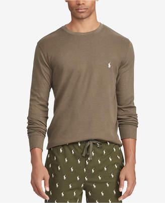 Polo Ralph Lauren Men's Waffle-Knit Sleep Shirt