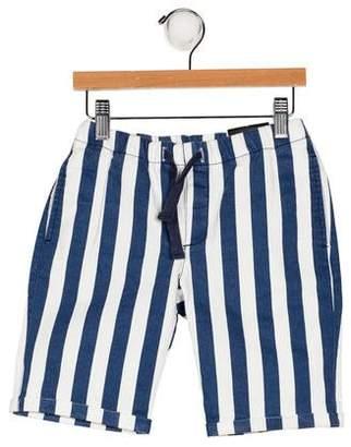 Molo Boys' Striped Knee-Length Shorts