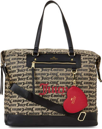 e36d0c8bdf998c Juicy Couture Popout Heart Weekender