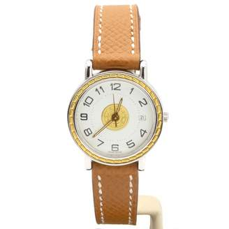 Hermes Sellier Gold Gold plated Watches