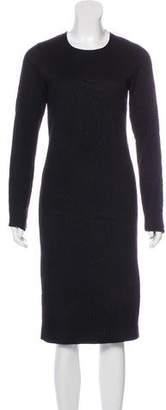 Maison Margiela Wool-Blend Midi Dress w/ Tags
