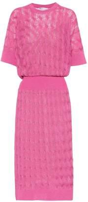 Agnona Knitted sweater dress
