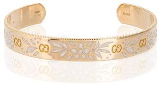 Gucci Large Icon bracelet in yellow gold