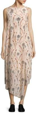 Creatures of the Wind Drew Floral Silk Dress