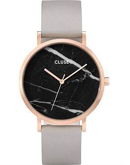 Cluse La Roche Rose Gold Black Marble/Grey