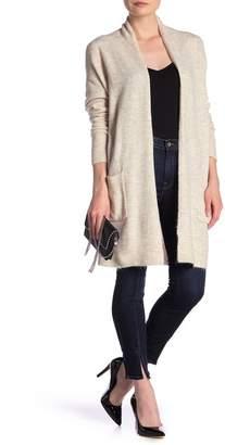 Susina Shawl Collar Knee Length Cardigan (Regular & Petite)