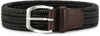 Orciani woven buckle belt
