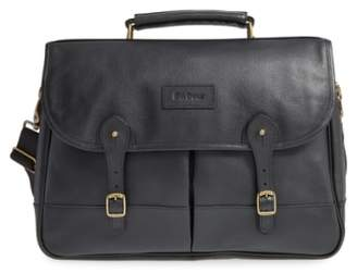Barbour Leather Briefcase