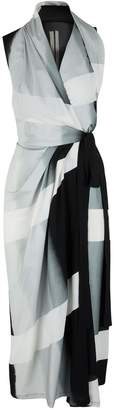 Rick Owens Wrap front midi-dress