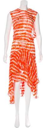 Preen by Thornton Bregazzi Sheer Maxi Dress