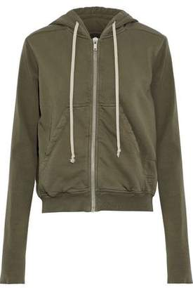 Rick Owens French Cotton-Terry Hooded Sweatshirt