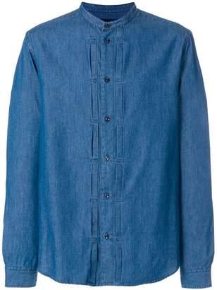 Natural Selection grandad button shirt