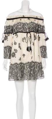 Rachel Zoe Lace Silk Dress