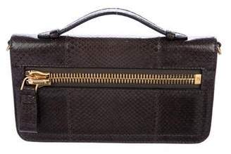 Tom Ford Snakeskin Handle Bag
