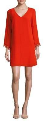 Catherine Malandrino Long-Sleeve Shift Dress
