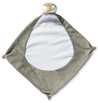 Angel Dear Grey Penguin Security Blankie