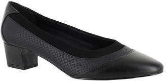 Easy Street Shoes Trixie Womens Pumps Slip-on Round Toe Block Heel