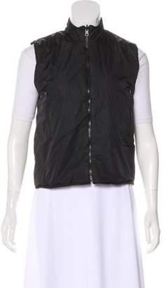 Sonia Rykiel Casual Zip-Up Vest