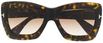 Tom Ford square shaped sunglasses
