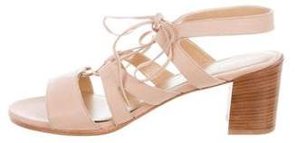 Stuart Weitzman Tie Girl Chorus Sandals w/ Tags
