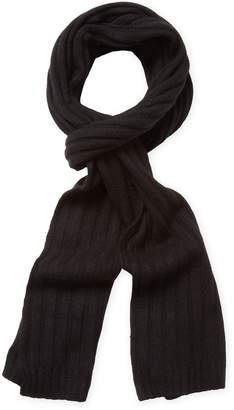 "Portolano Men's Rib Knit Long Scarf, 68"" x 11"""