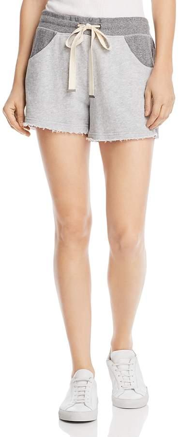 Color-Block Drawstring Shorts