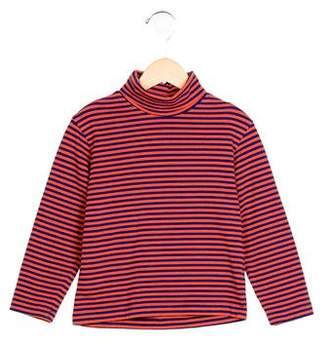 Oscar de la Renta Boys' Striped Turtleneck Shirt