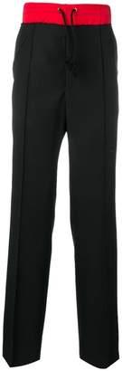 Maison Margiela contrasting waistband track pants
