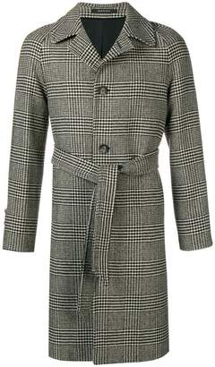 Tagliatore houndstooth single breasted coat