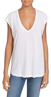 Women's Frame Cotton Tee $89 thestylecure.com