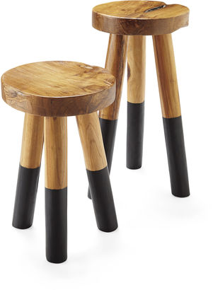 Serena Amp Lily Dip Dyed Stools Shopstyle Home