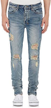 Ksubi Men's Van Winkle Distressed Skinny Jeans $215 thestylecure.com