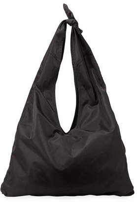 The Row Bindle Knot Nylon Hobo Bag