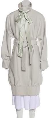 Dolce & Gabbana Long Wool Coat